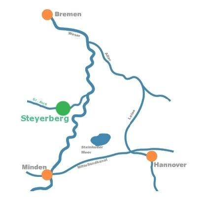 Steyerberg Lageplan