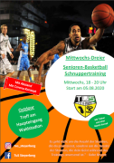 Neues Basketball Outdoor Feld + Schnuppertraining