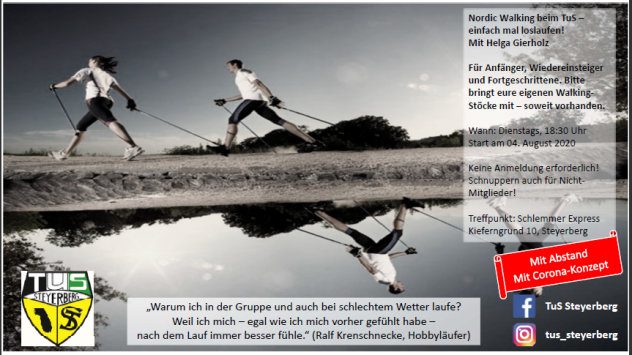 Nordic Walking © Flecken Steyerberg
